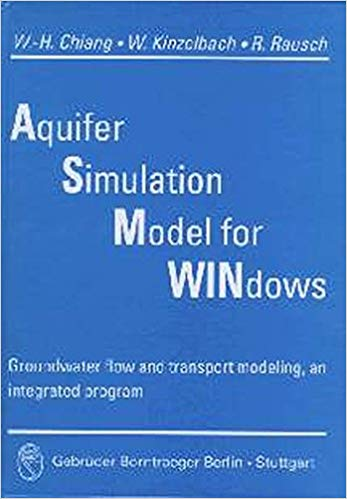Aquifer Simulation Model for Windows: Groundwater flow and transport modeling, an integrated program